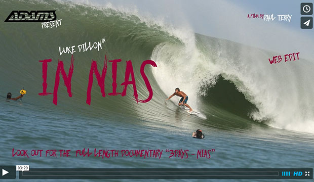 Luke Dillon in Nias