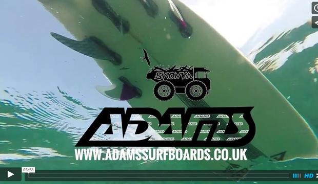 Adams Surfboards - The Swonka Maldives