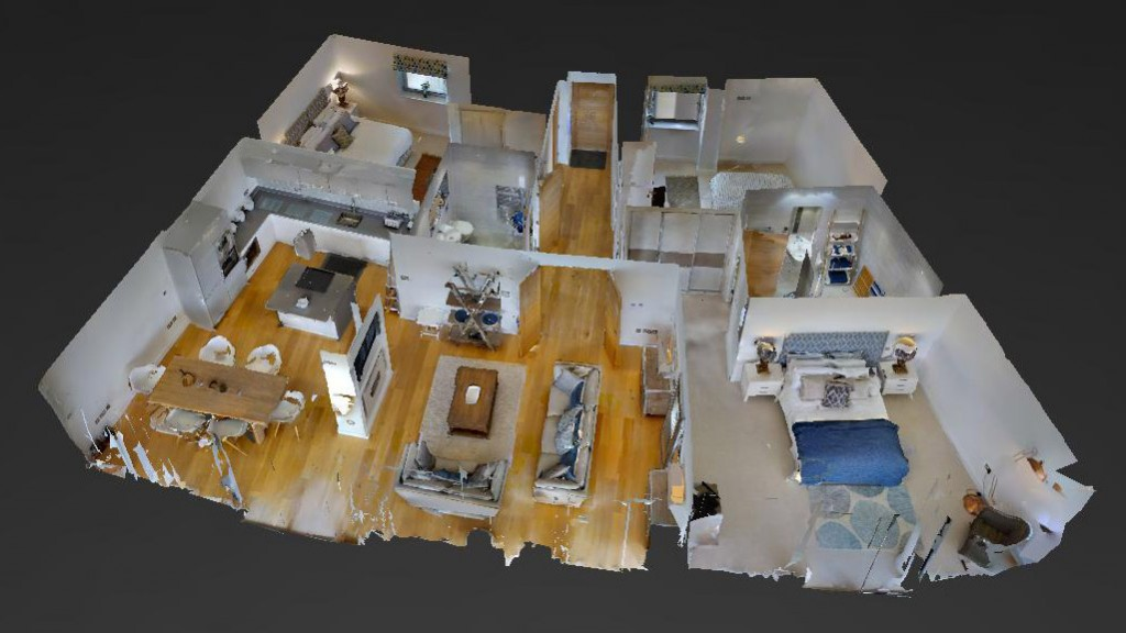 3D Dolls House View