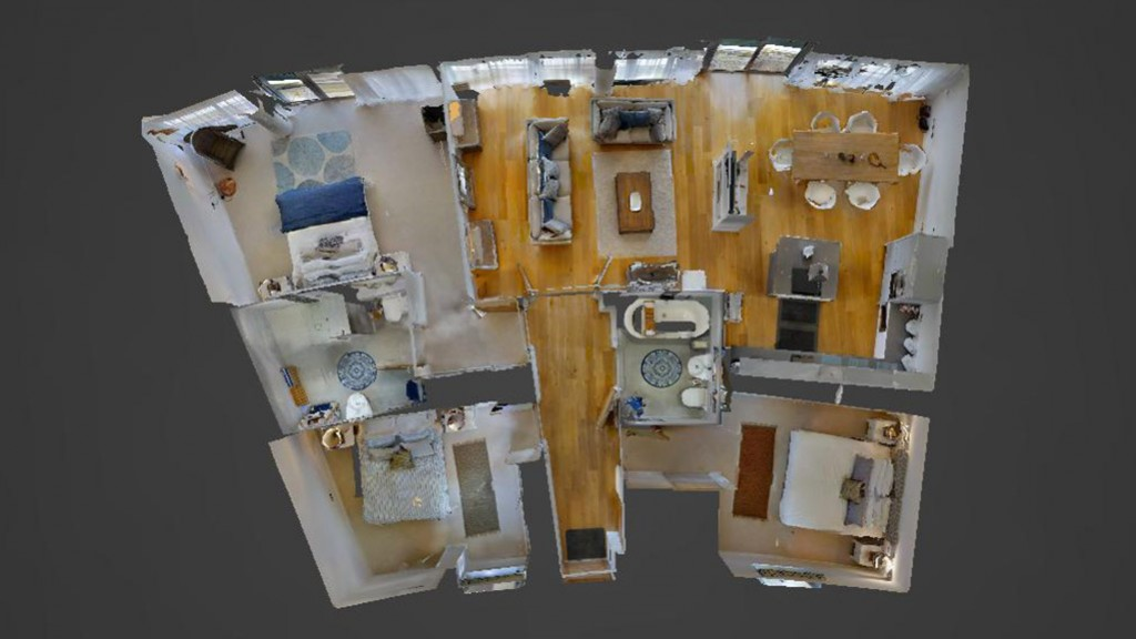 3D Floor Plan View