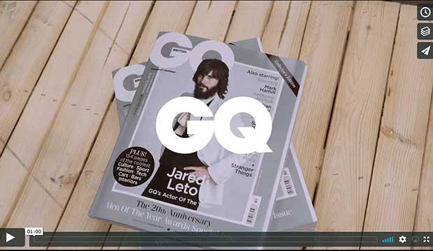 GQ Magazine 20th Anniversary Edition